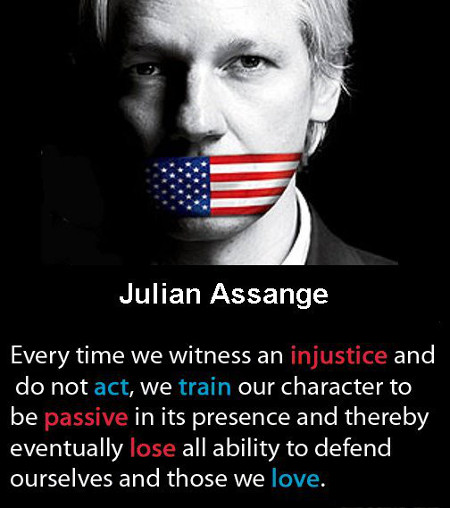 Every time - Julian Assange