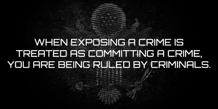 Crime quote