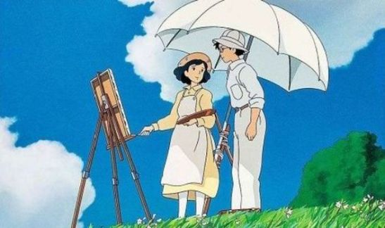 "Sene from ""The Wind Rises"""