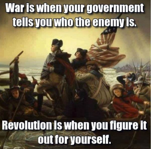revolution or war
